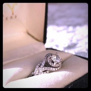 14WG Engagement Ring 1K, Kay's Jewelry